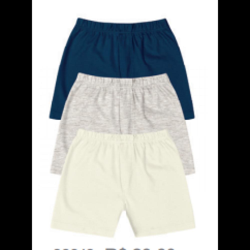 Kit Shorts 3 Peças Kiko e Kika REF:   2310