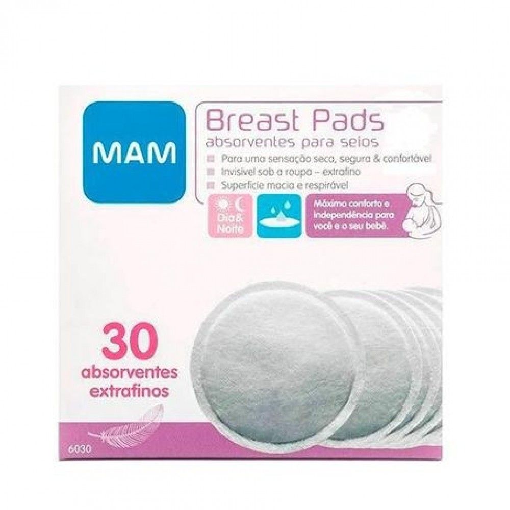 Absorvente Para Seios Breast Pads  MAM REF: 6030 P/SEIOS