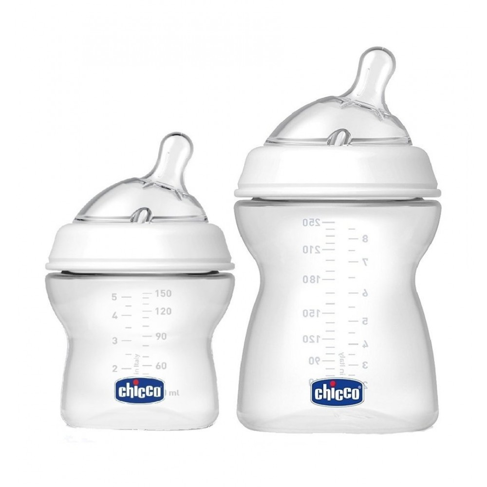 Kit 2 Mamadeiras Chicco Step Up 150ml 250ml REF: 8081163