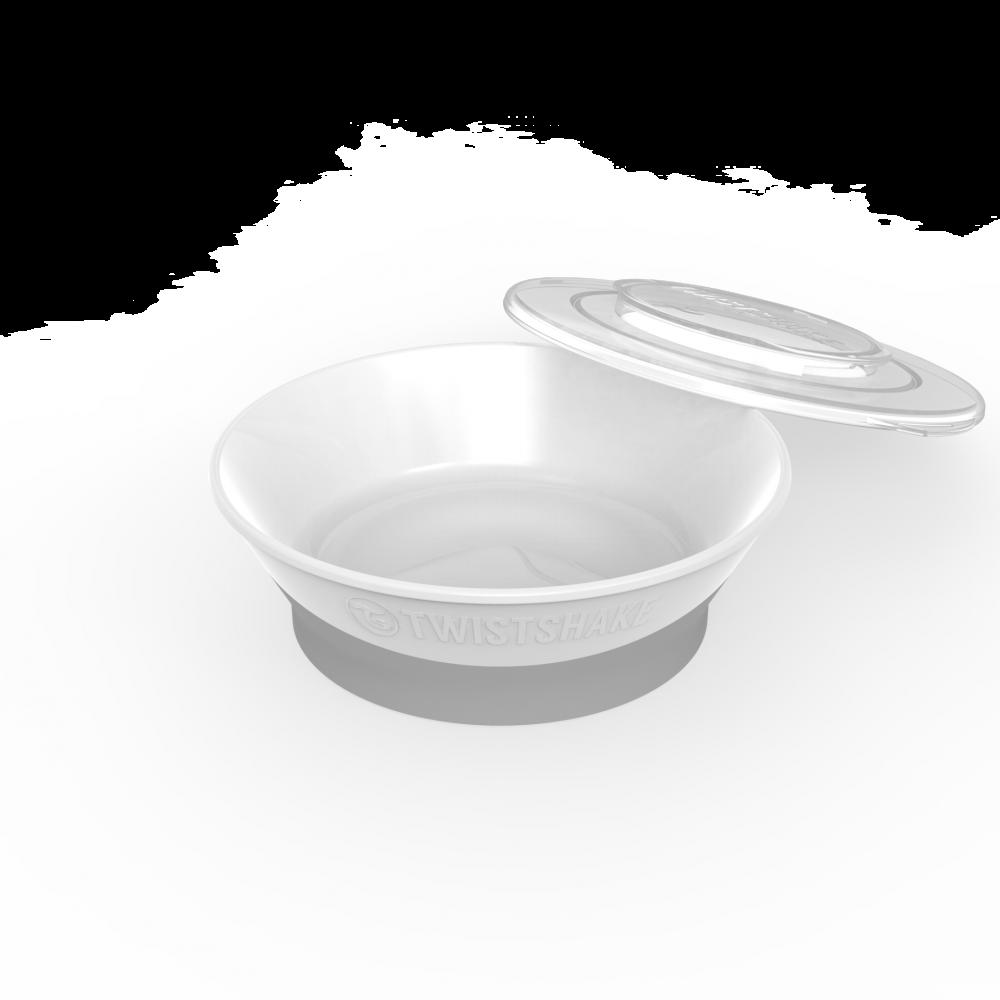Bowl Twistshake (6+ m) White REF: 78157 BOWL 6M