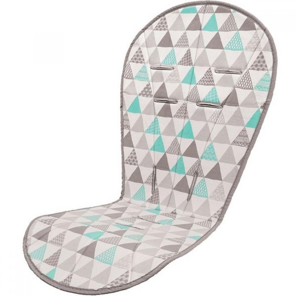 Almofada Protetora Para Carrinho Triângulos Buba - Ref:11765