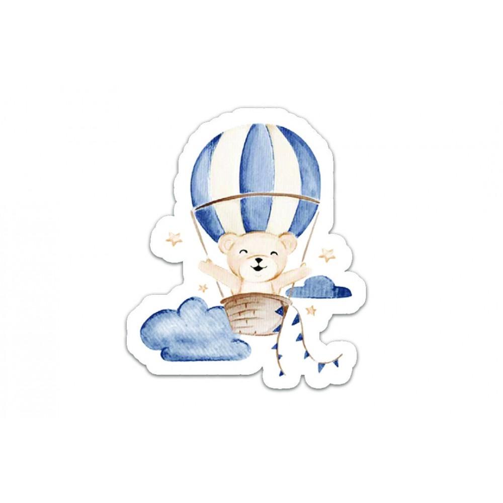 Adesivo Voando Entre as Nuvens Hug REF:  E15040