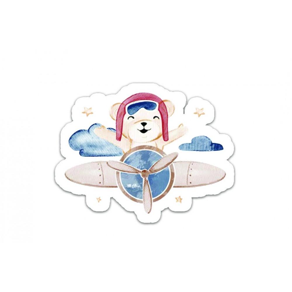 Adesivo Voando Entre as Nuvens Hug REF:  E15040A