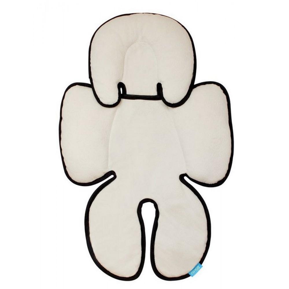 Almofada para Bebê Conforto Branco Preto Clingo REF:  C2115