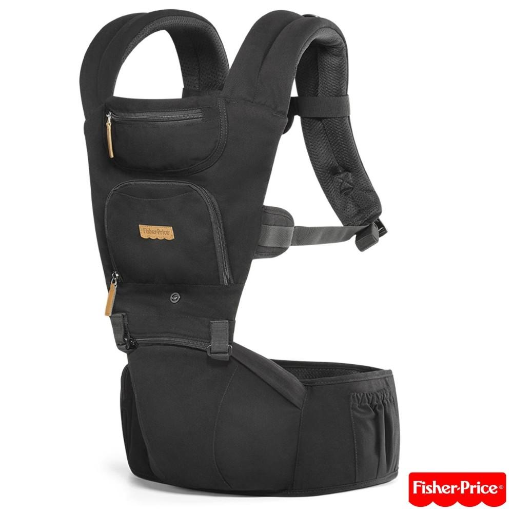 Canguru Hipseat Preto - Fisher Price REF: BB310