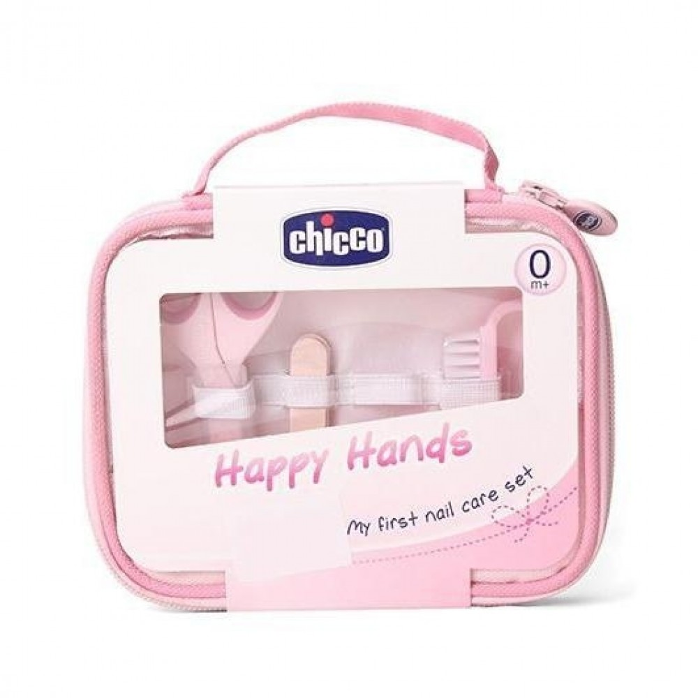 Kit Manicure Chicco Rosa REF: 1001910
