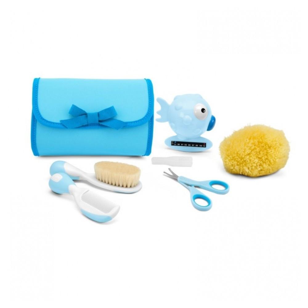 Kit de Higiene Primeiros Cuidados Bebê Chicco 0m+ REF: 59341