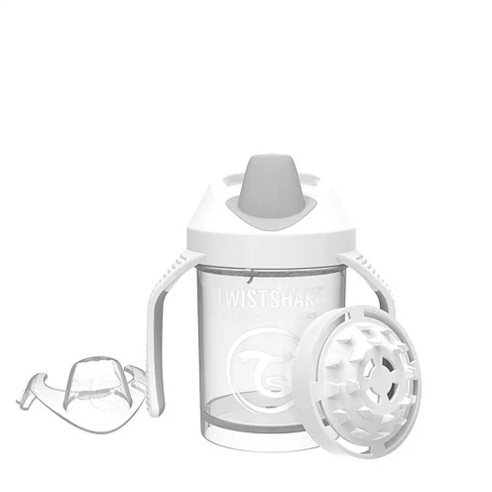 Copo Mini Cup Branco - Twistshake Ref:78053