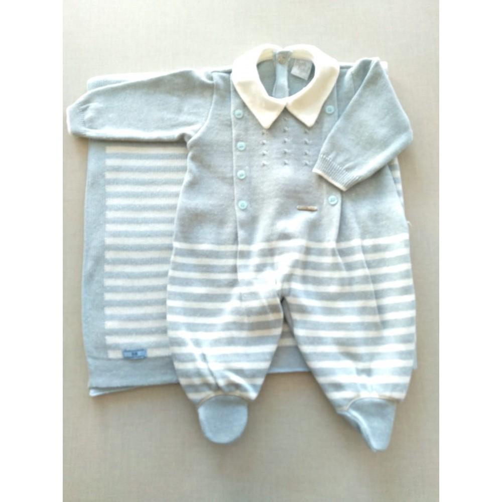 Saída Maternidade Theo Beth Bebê REF:  7245