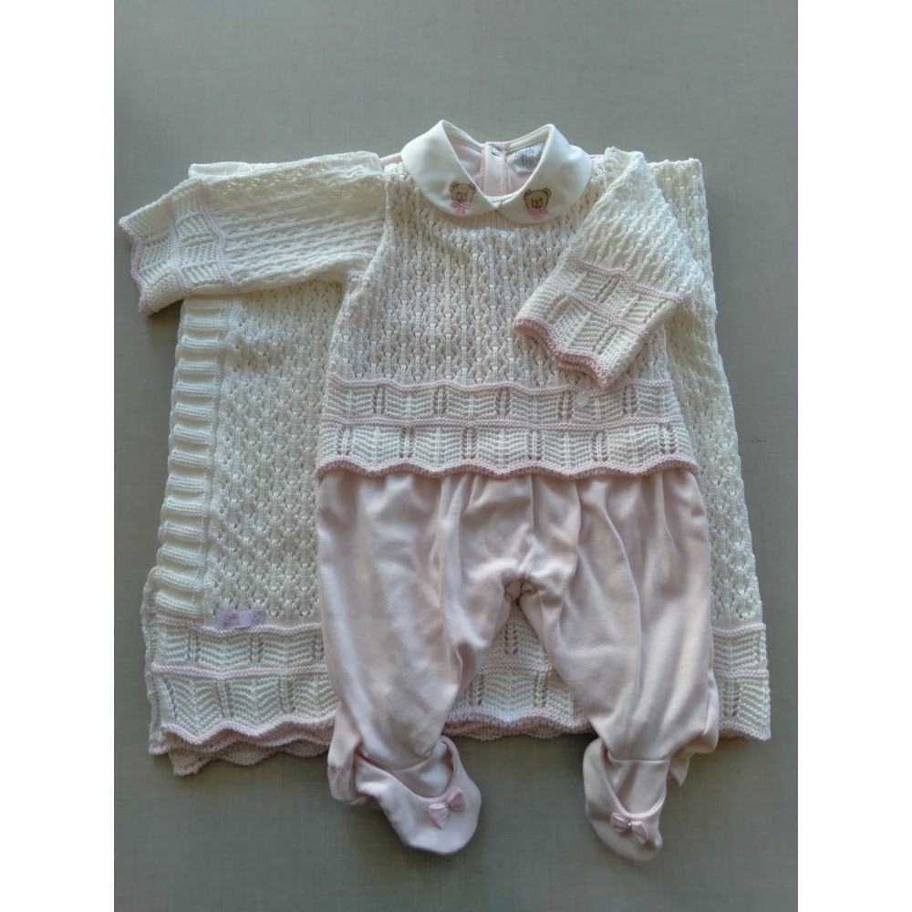Saída Maternidade Zoe Beth Bebê REF:  7230